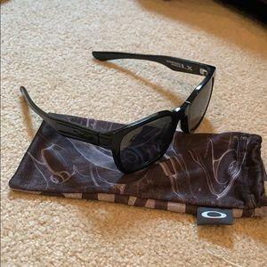 Garage Rock Polarized Black Oakley sunglasses